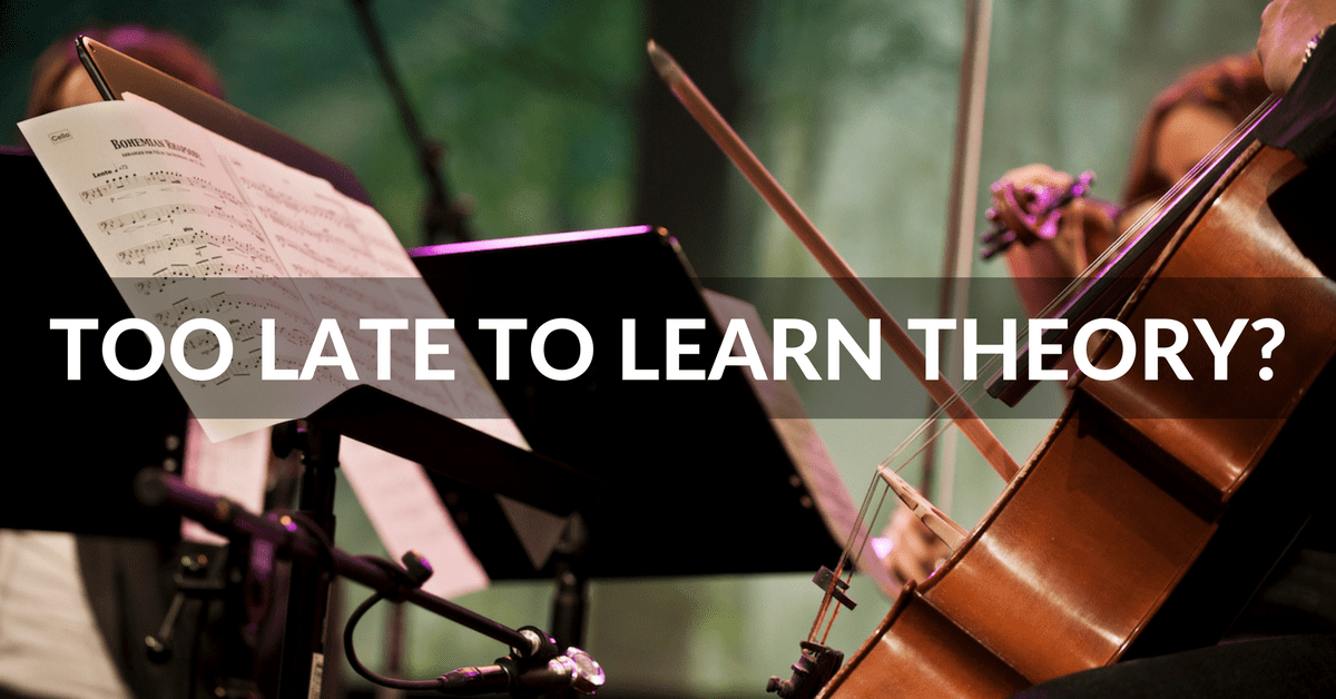 learn music theory as an adult