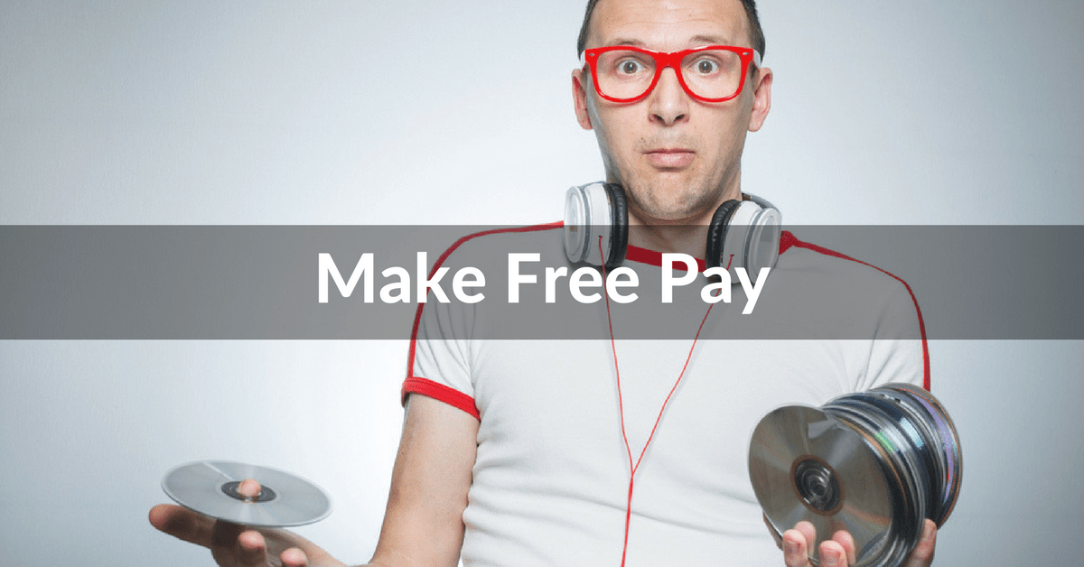 how to make free music make money
