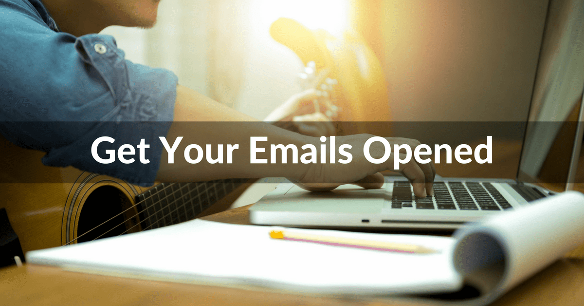 emailing music bloggers