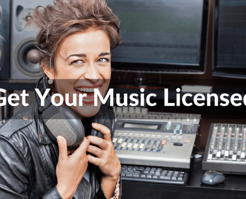 get your music licensed