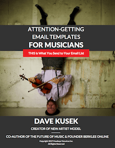 10 Attention-Getting Email Templates for Musicians