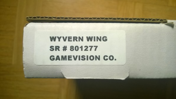 Wyvern Wings - label