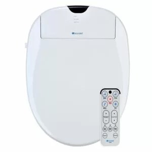 Brondell S1000-EW Swash 900 Advanced Bidet Elongated Toilet Seat