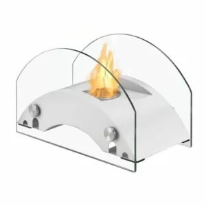 Harbor White Series - Ventless Tabletop Ethanol Fireplace