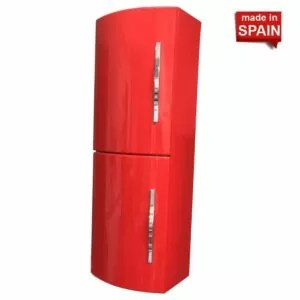 Side Cabinet CRON Glossy Red Socimobel Made in Spain Spain KR-RR-2
