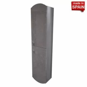 Side cabinet Cheer Color Glossy Grey Socimobel Made in Spain