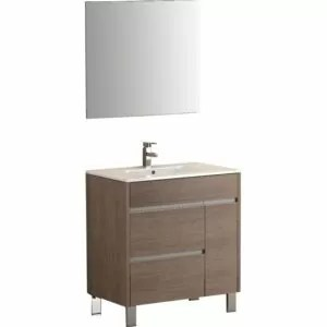 "Tauro® 32"" Single Modern Bathroom Vanity Set by Eviva"