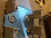 DIY PC Test Bench Plexiglass Screwed in