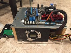 Kodi PC Build Almost All Put Together using a DIY PC Test Bench