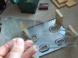 Plexiglass used for the DIY PC Test Bench Bottom