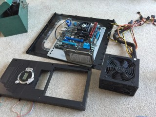 Taking a Part the old PC Case and Hardware