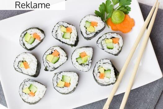 Smag lækker sushi i god kvalitet