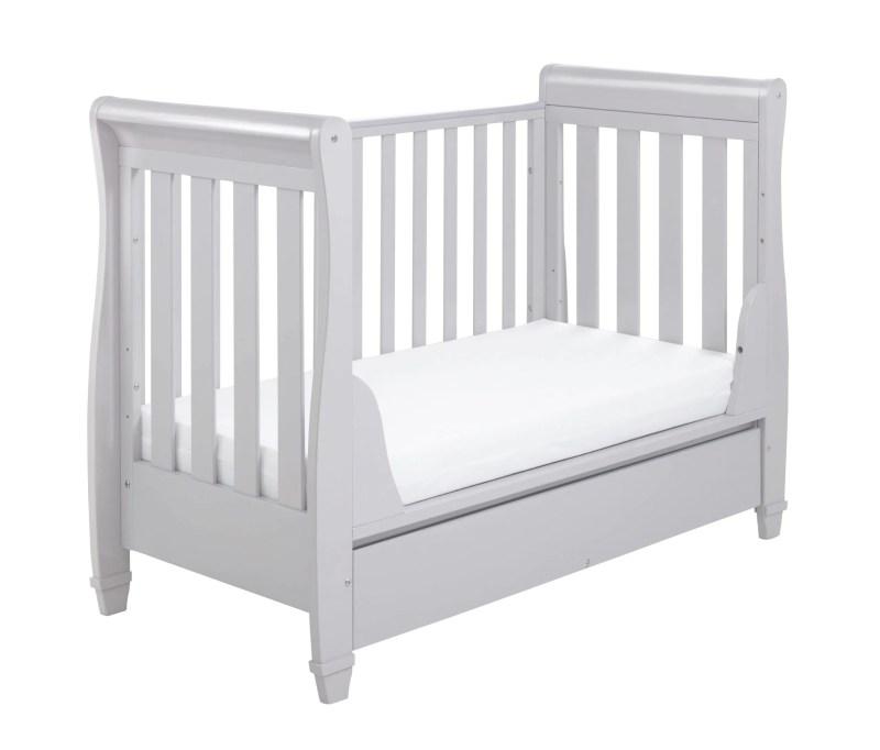 Eva Grey Cot bed