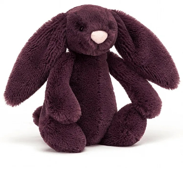 Plum Bashful Bunny