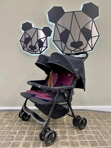 joie aire double stroller crewe ex display