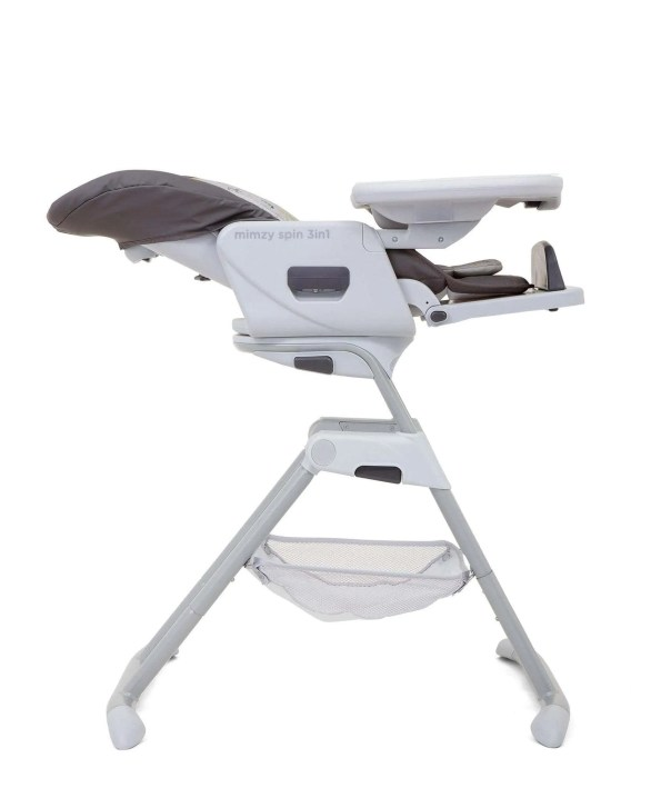 Joie Mimzy Spin 3 in 1 Highchair geometric mountains