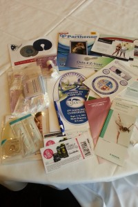 Ostomy Samples Galore from UOAA Registration Bag