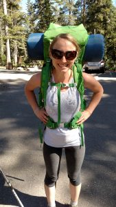 Backpacking with an ostomy - what bag