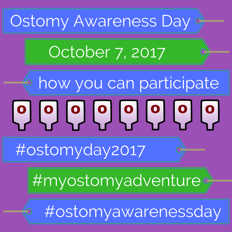 ostomy awareness day 2017 #ostomyday2017 #myostomyadventure