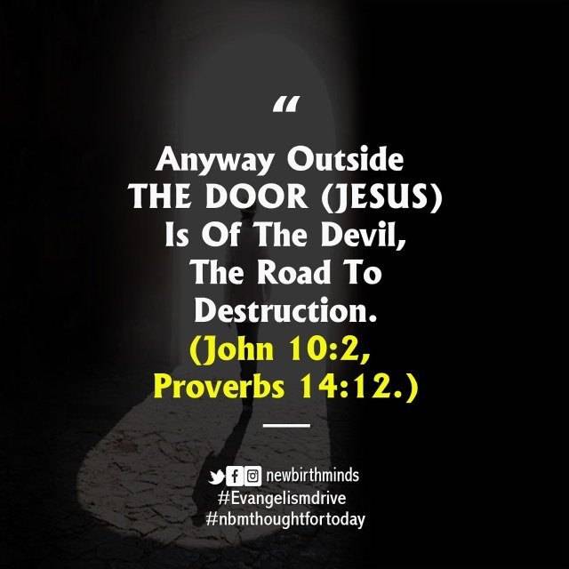Jesus the way to uprightness