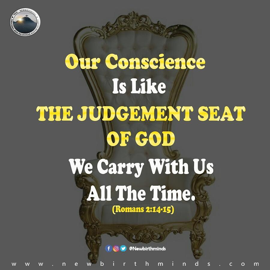 THE CONSCIENCE: THE VOICE OF THE SPIRIT OF MAN