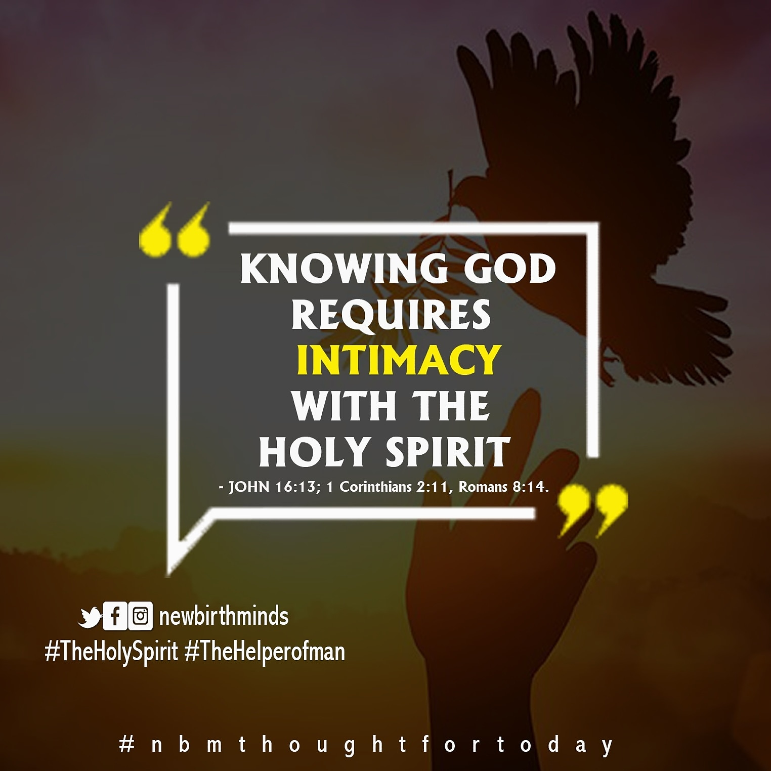 THE HOLY SPIRIT (THE HELPER OF MEN) – INTRODUCTION