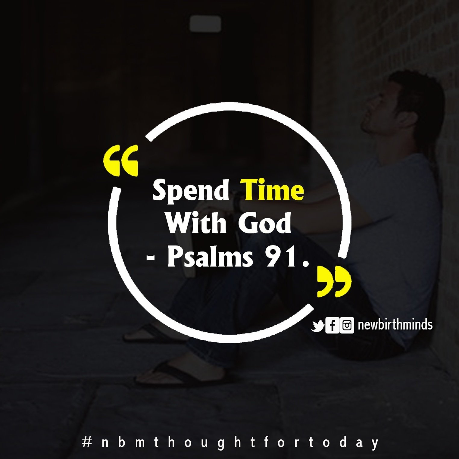 TFT: SPEND TIME WITH GOD!