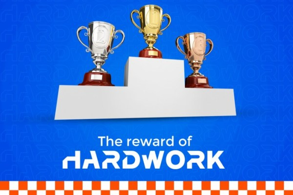 The reward for Hard-Work