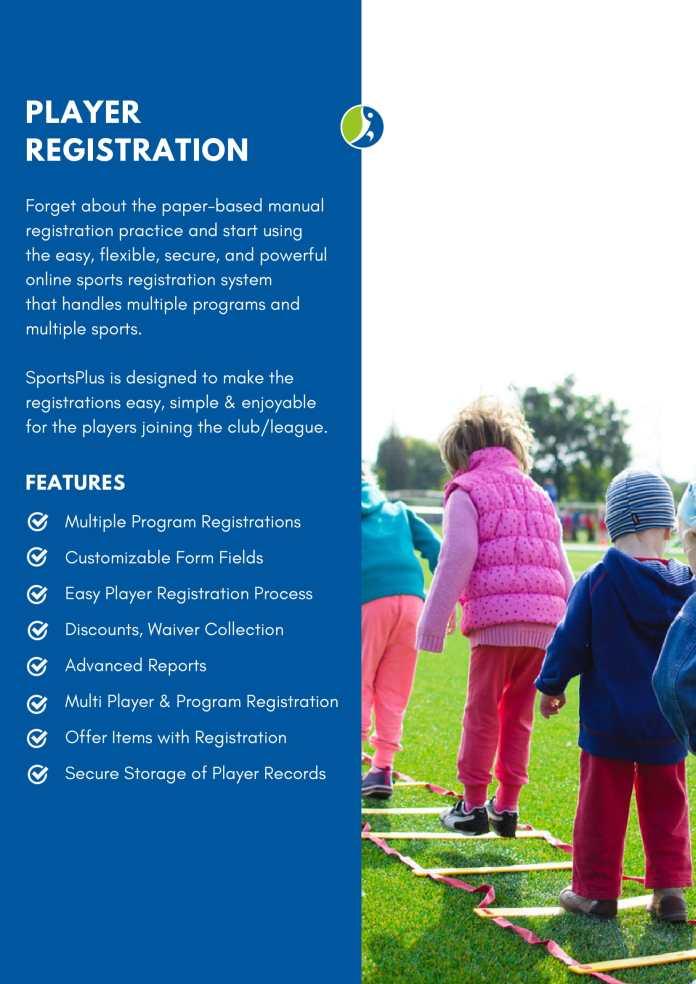 online sports registration software
