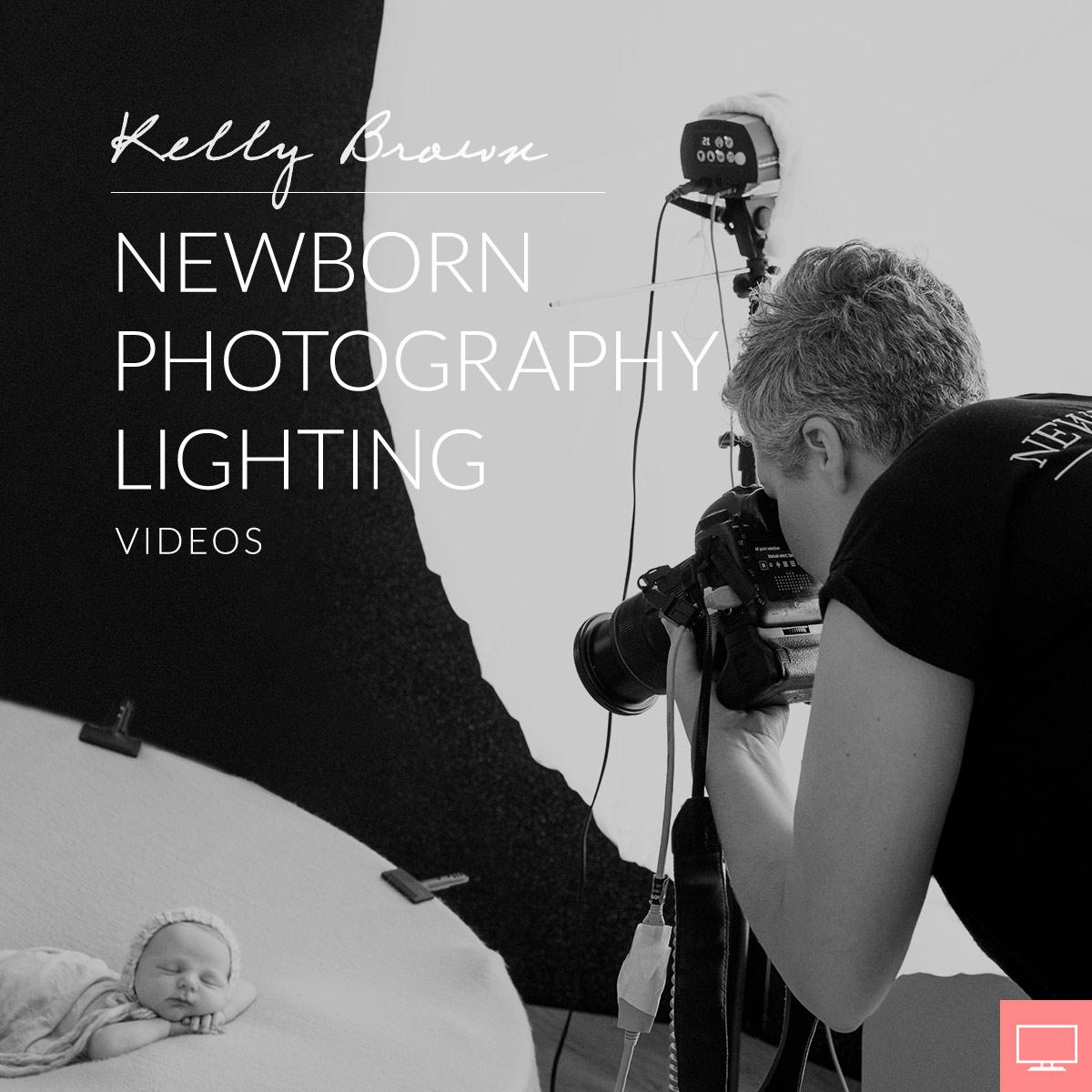 newborn photography lighting kelly brown newborn posing