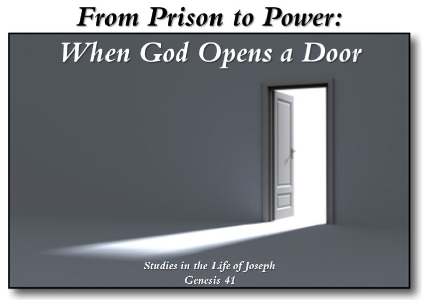 From Prison to Power: When God Opens a Door