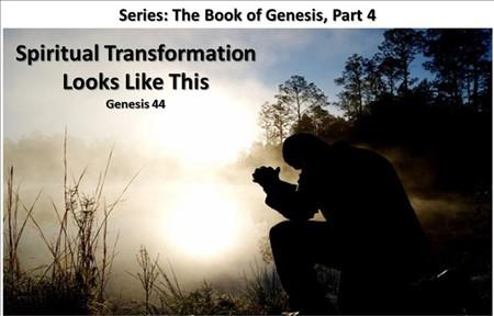 Spiritual Transformation Looks Like This
