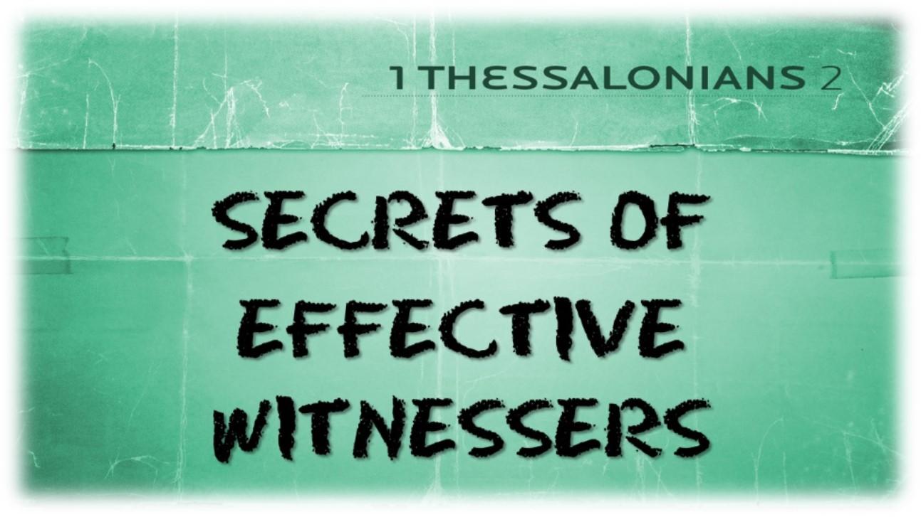 Secrets of Effective Witnessers