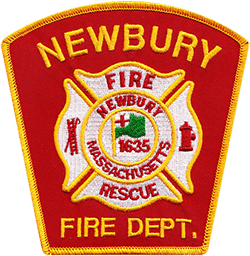 Newbury Fire Rescue Department Patch