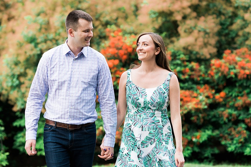 Colorful, Natural, Happy Engagement Photography in Boston