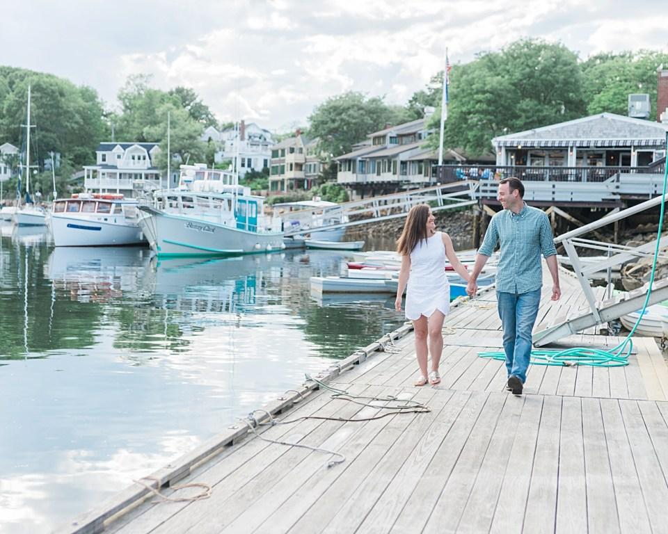 Ogunquit, Maine Engagement Photos