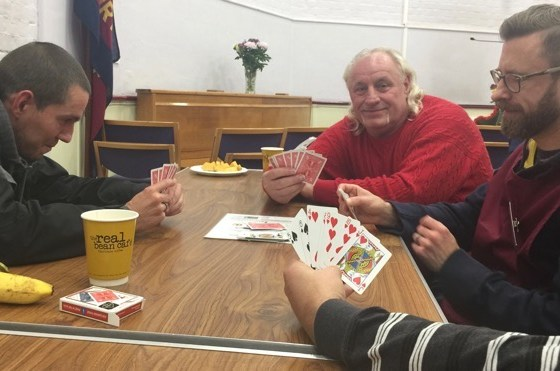 Week 41 – Lots of Laughter, Friendly Conversation And Men Playing Cards