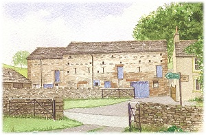 The Great Barn at Newby End Farm