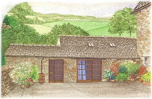 The Byre – Holiday cottage at Newby End Farm