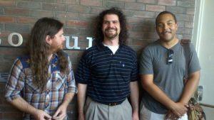 Executive Producer Bryan Kane, Producer  Brett Greene, Witer/Director Brandon Harris