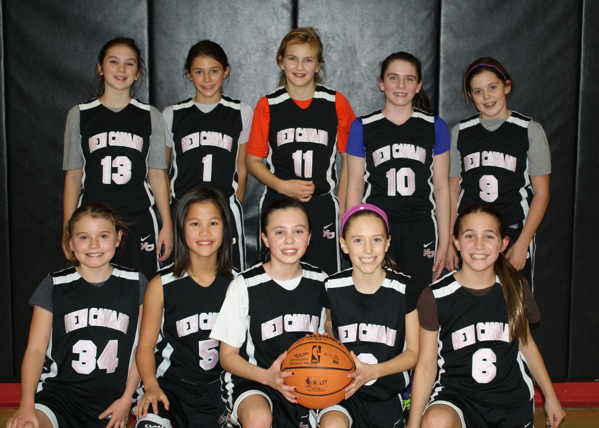 New Canaan 6th Grade Girls Basketball Notch Two Weekend