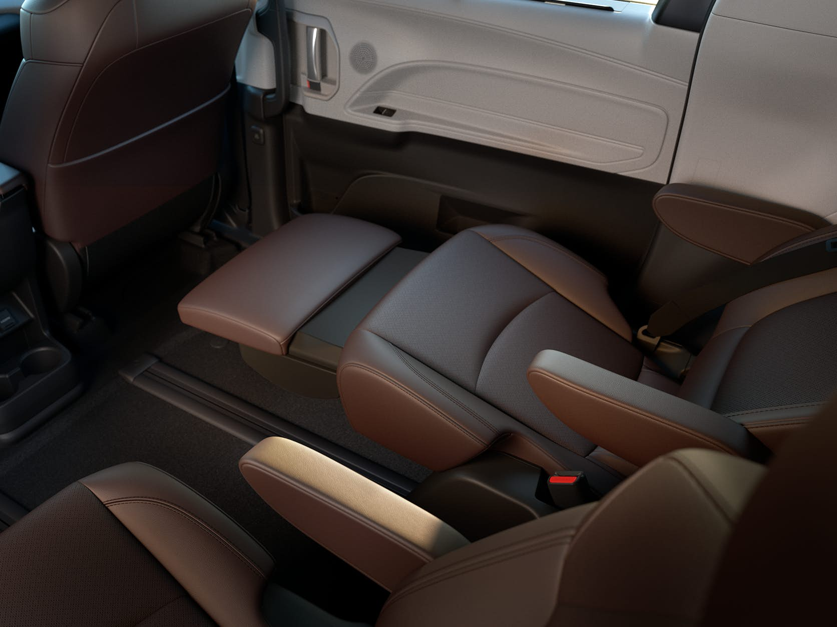 New Toyota Sienna rear passenger captains chair