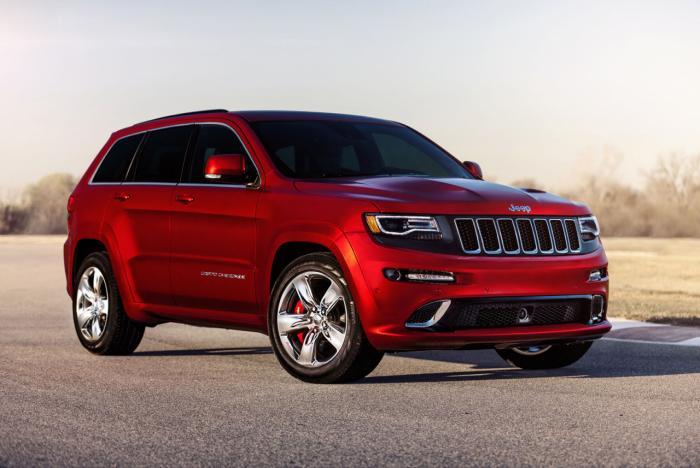 2018 Jeep Grand Cherokee Trackhawk Changes