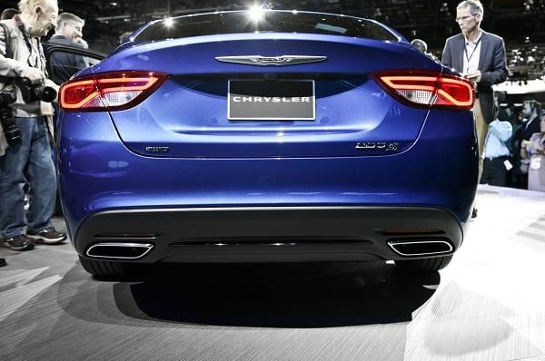 2020 Chrysler 200 Convertible Redesign Back