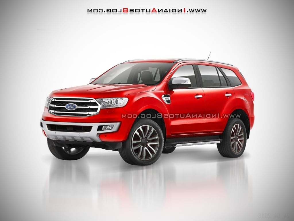 2018 Ford Endeavour Engine