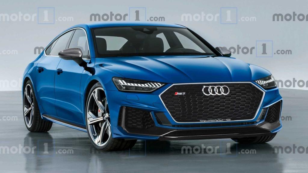 2023 Audi S7 Spy Shots