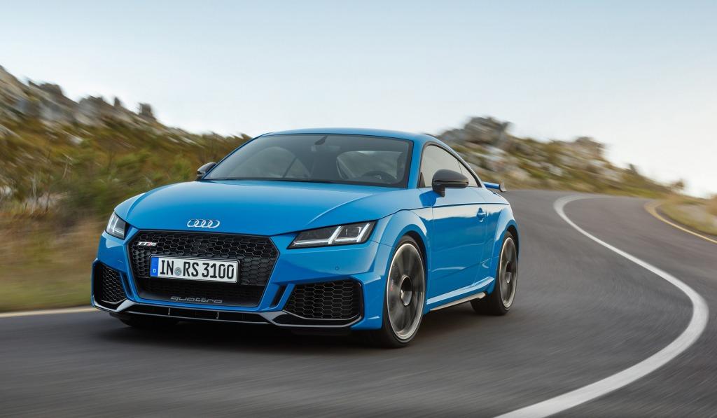 2023 Audi TTS Powertrain