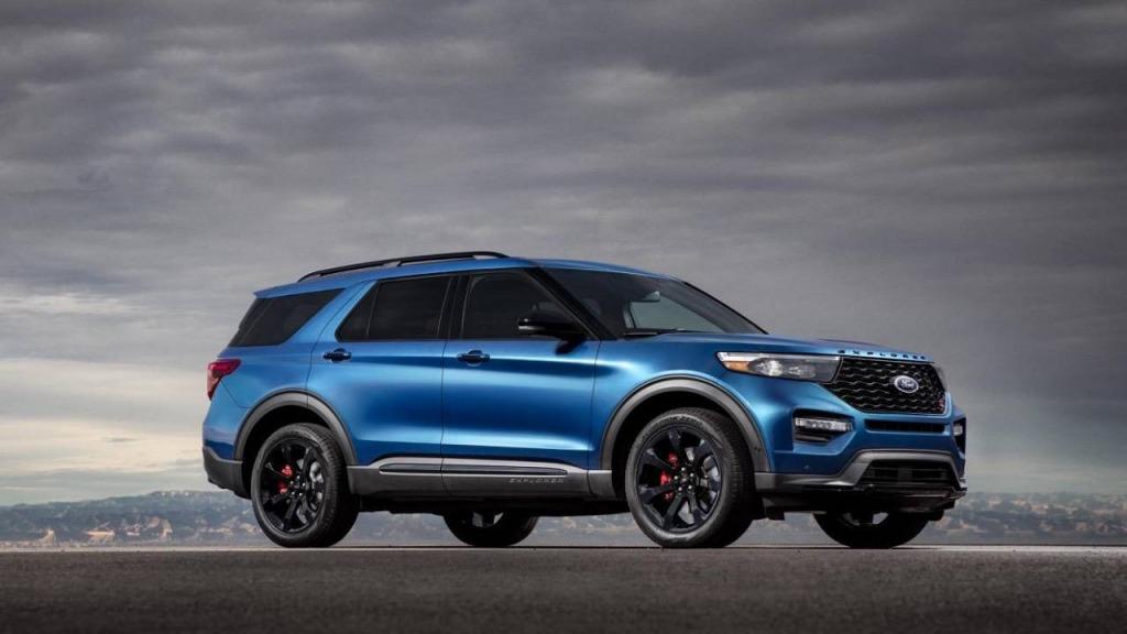 2023 Ford Explorer Drivetrain
