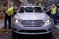 2023 Ford Taurus sho Interior