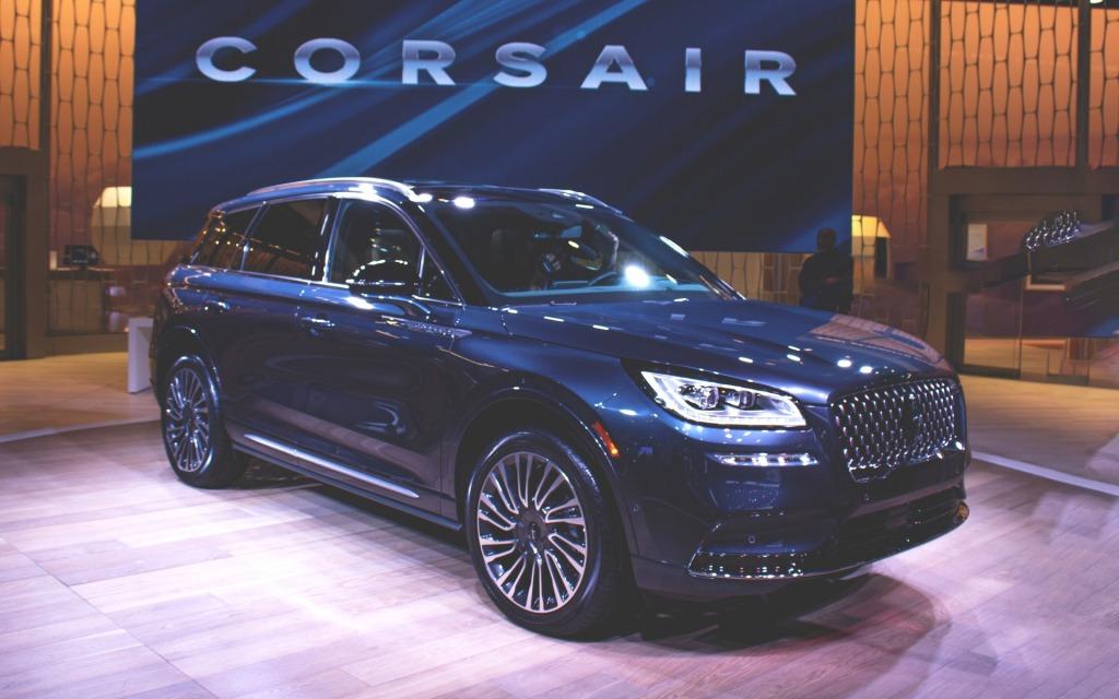 2023 Lincoln MKC Interior